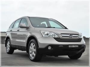 2007 HONDA CR-V 4D WAGON (4x4) LUXURY MY07