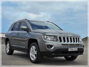2014 JEEP COMPASS 4D WAGON NORTH (4x2) MK MY14