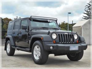 2008 JEEP WRANGLER UNLIMITED 4D SOFTTOP SPORT (4x4) JK MY08