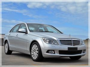 2008 MERCEDES-BENZ C200 4D SEDAN KOMPRESSOR CLASSIC W204