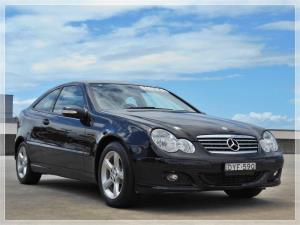 2006 MERCEDES-BENZ C200 2D COUPE KOMPRESSOR CL203 MY06