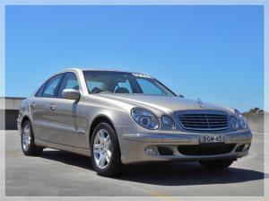 2004 MERCEDES-BENZ E240 4D SEDAN ELEGANCE 211