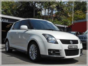 2007 SUZUKI SWIFT 5D HATCHBACK SPORT EZ 07 UPDATE