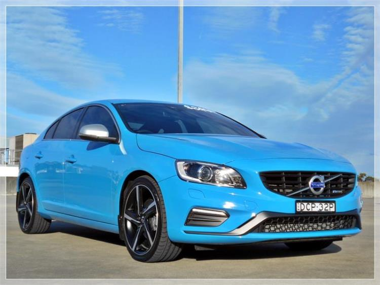 2014 VOLVO S60 4D SEDAN T5 R-DESIGN F MY14